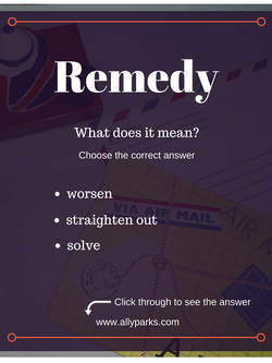 Download free Vocabulary Worksheet. http://www.allyparks.com/english-blog/vocabulary-how-to-learn-new-english-words-with-vocabulary-worksheets-remedy define Remedy, Remedy meaning, Remedy in a sentence, Vocabulary, esl, efl, English, Inglês, inglés, английский язык, ingles, английские,