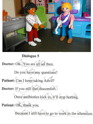 Download free English Intonation and Rhythm Checklist. http://www.allyparks.com/english-blog/english-intonation-and-rhythm-everyday-dialogues-at-the-doctor-5 Everyday Dialogues, at the doctor, in the hospital, Pronunciation, listening, English dialogues, everyday dialogues, English speaking, English conversation, spoken English, esl, efl, English, Inglês, inglés, английский язык, ingles, английские