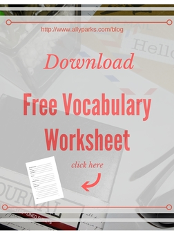 Vocabulary Worksheets, English Worksheets, vocabulary worksheets, free printable vocabulary worksheets, http://www.allyparks.com/downloads/learn-english-words-with-vocabulary-worksheets