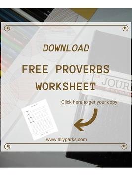 English Worksheets, worksheet English, learn English, printable English worksheets, http://www.allyparks.com/downloads/learn-english-proverbs-with-proverbs-worksheet